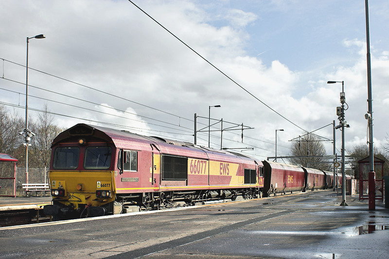 66077 Coatbridge Central 15/3/2013<br /> 6G07 1230 Hunterston-Longannet PS