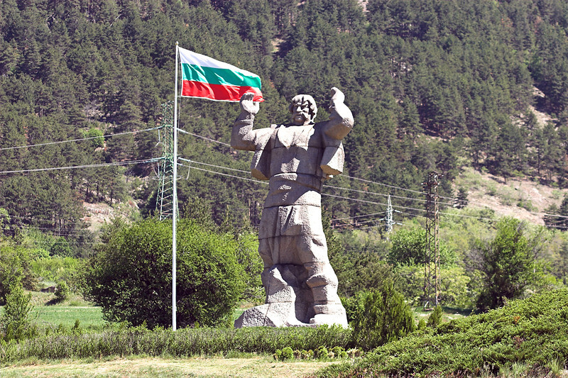 The Monument of Borimechkata, Klisura, Bulgaria 15/5/2013
