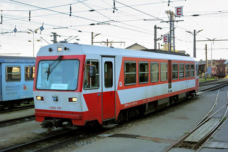 5090 011 St Pölten Alpenbahnhof 15/10/2013