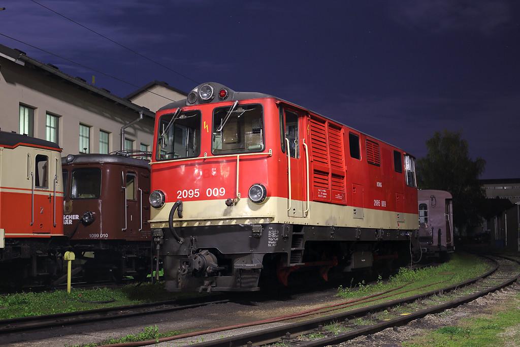 2095 009 St Pölten Alpenbahnhof 15/10/2013