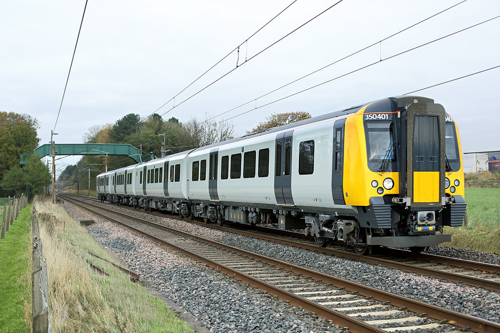350401 Brock 15/11/2013<br /> 5T73 1303 Carnforth-Crewe CS
