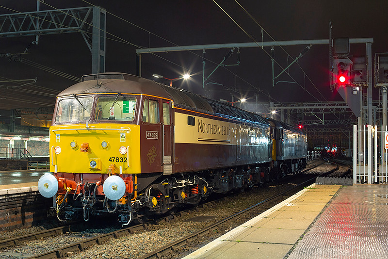 47832 and 47501, Crewe 29/11/2013