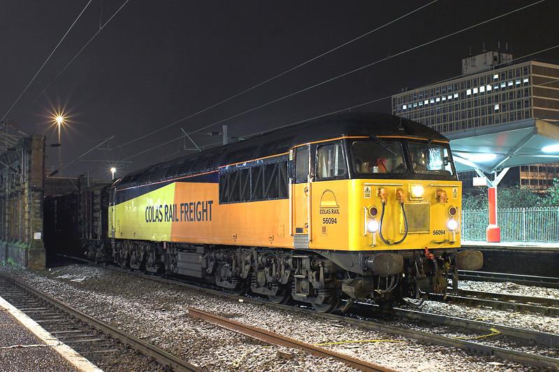 56094 Crewe 17/1/2013<br /> 6Z53 1441 Teingrace-Carlisle Yard