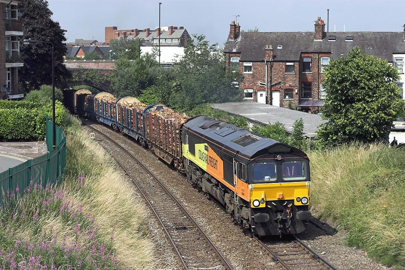 66849 Altrincham 17/7/2013<br /> 6J37 1000 Carlisle Yard-Chirk