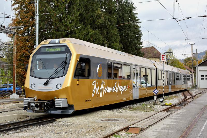 ET5 Kirchberg a.d. Pielach 17/10/2013<br /> P6829 1235 St Pölten Hbf-Frankenfels