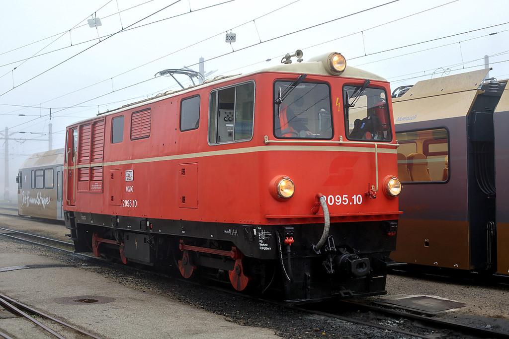 2095 010 St Pölten Alpenbahnhof 17/10/2013