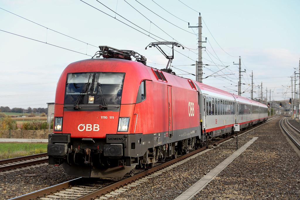 1116 111 Loosdorf 17/10/2013<br /> REX1940 1508 Wien Westbahnhof-Amstetten