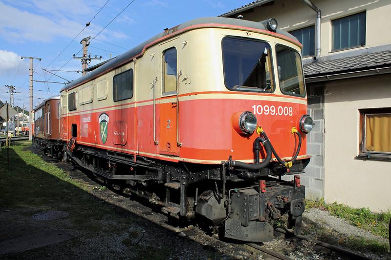 1099 008 St Pölten Alpenbahnhof 17/10/2013
