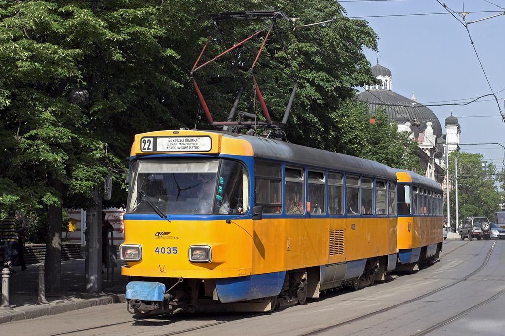 4035 and 4763, Sofia 18/5/2013
