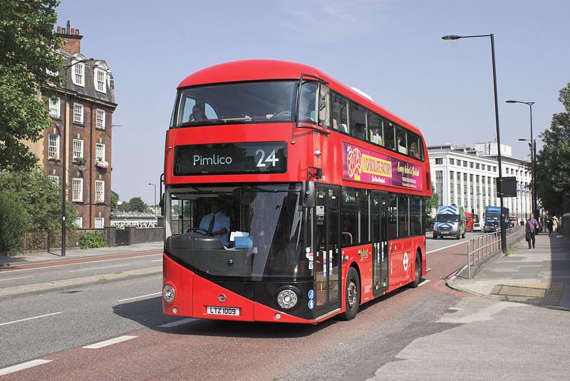 LT9 LTZ1009, Hampstead Road 18/7/2013