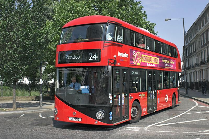 LT13 LTZ1013, Mornington Crescent 18/7/2013