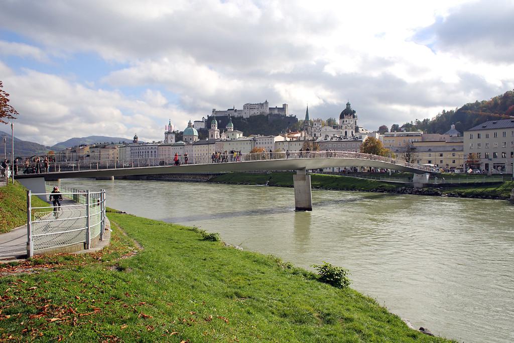 River Salzach, Salzburg, Austria 18/10/2013