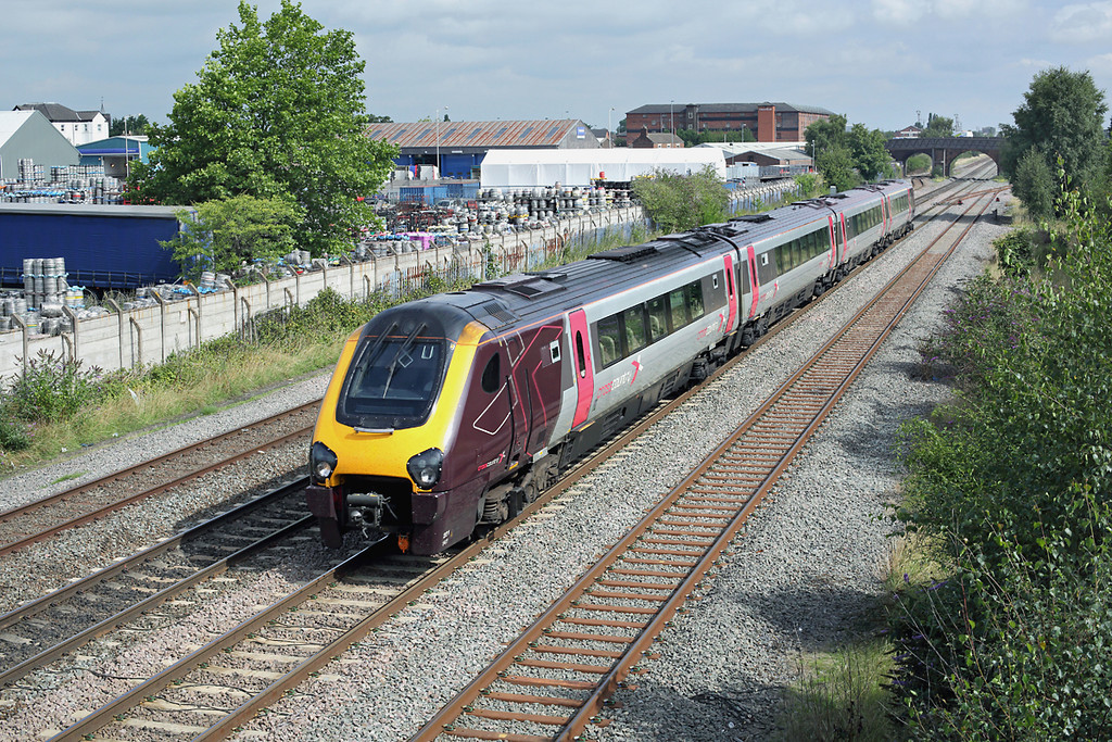 221141 Burton-on-Trent 22/8/2013<br /> 1V85 0700 Edinburgh-Reading