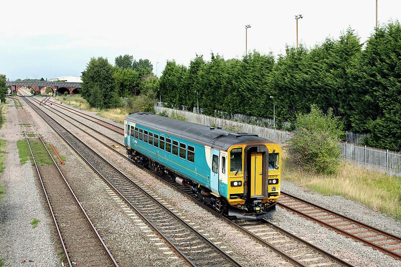 153312 Burton-on-Trent 22/8/2013<br /> 5V42 1401 Doncaster Wabtec-Cardiff Canton TMD