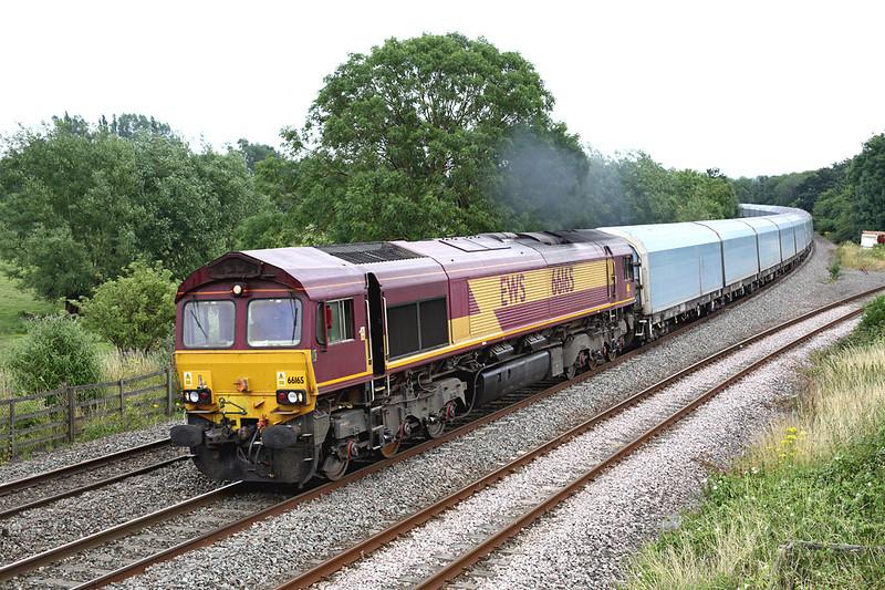 66165 Hatton North Junction 23/7/2013<br /> 4M52 1132 Southampton Docks-Castle Bromwich