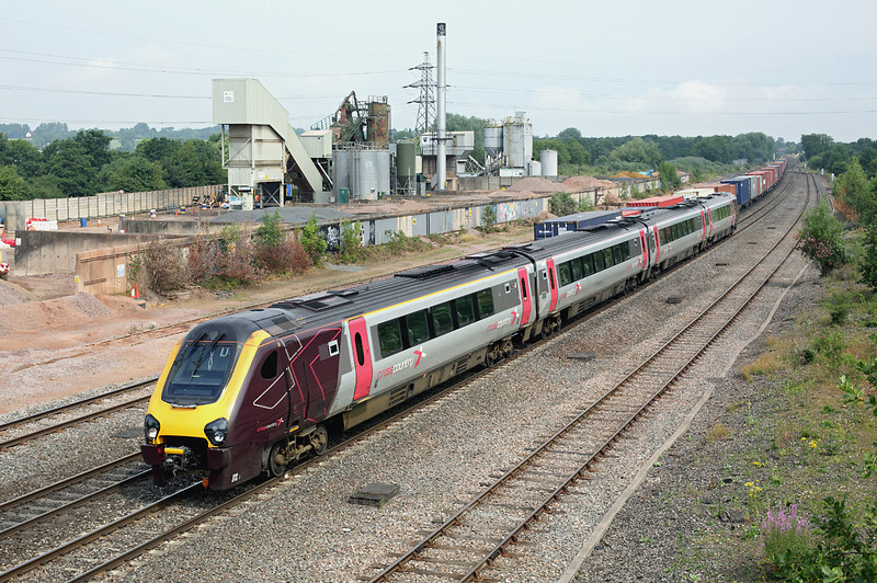 220016 Banbury 23/7/2013<br /> 1O10 0907 Stoke on Trent-Bournemouth