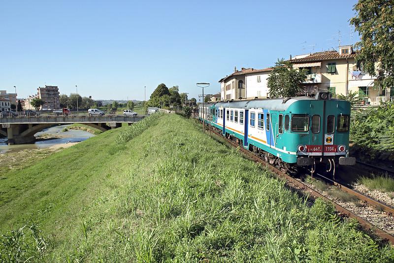 ALn668-1934 Castelfiorentino 24/9/2013<br /> R11770 1518 Siena-Firenze SMN