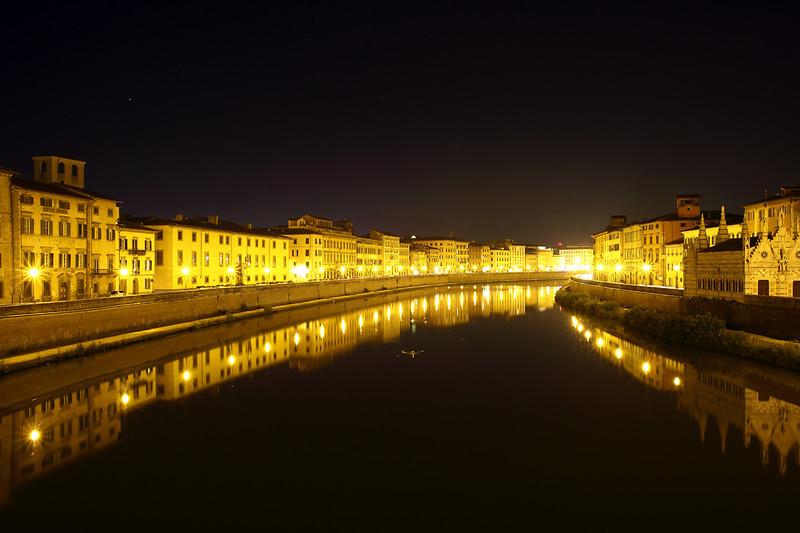 River Arno, Pisa, Italy 24/9/2013
