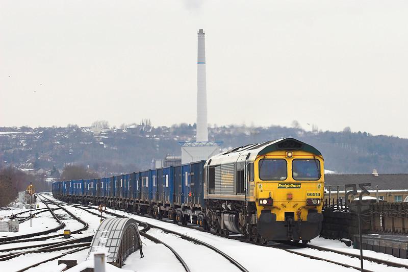 66518 Huddersfield 25/1/2013<br /> 6M05 0925 Roxby Gullet-Northenden