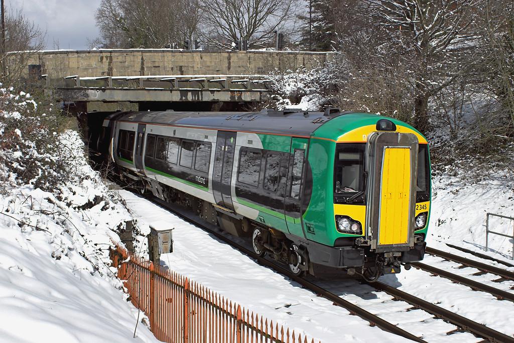 172345 Yardley Wood 25/3/2013<br /> 2K23 1139 Whitlocks End-Kidderminster