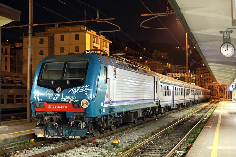 E464-416 La Spezia Centrale 26/9/2013