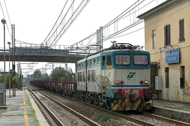 E655-408 Camaiore Lido Capezzano 26/9/2013