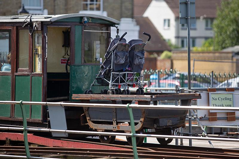 Hythe Pier Railway luggage truck, Hythe Pier 27/8/2013