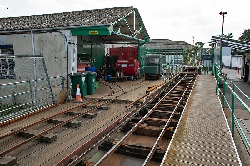Hythe Pier Railway Landward Station 27/8/2013
