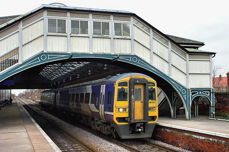 158905 Beverley 29/1/2013<br /> 1J28 1311 Bridlington-Sheffield