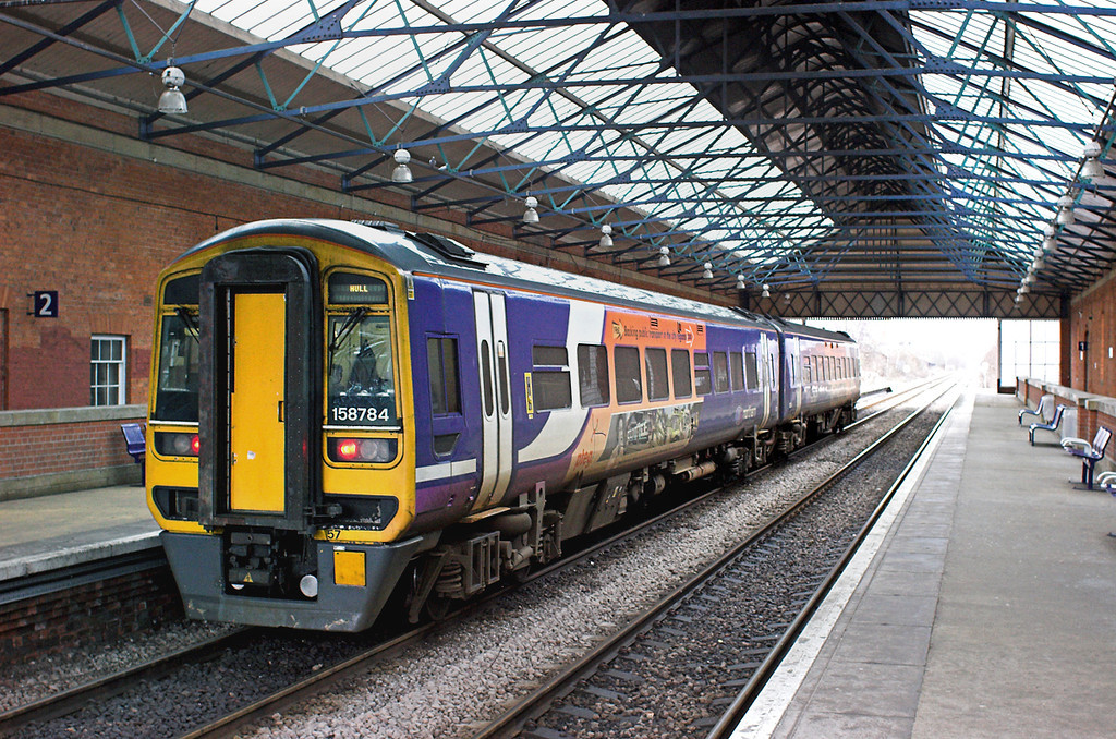158784 Beverley 29/1/2013<br /> 2W26 1344 Hull-Bridlington