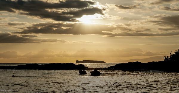 Molokini Island.
