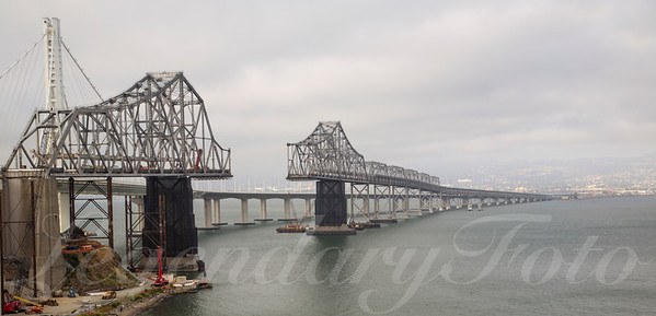 Removing the Old Bay Bridge