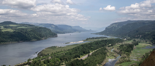 Views from Crown Point of the Columbia Gorge