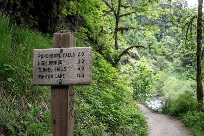 Columbia Gorge - Eagle Creek Trail No. 440