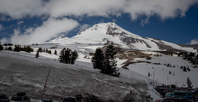 Mt. Hood from Timberline Lodge