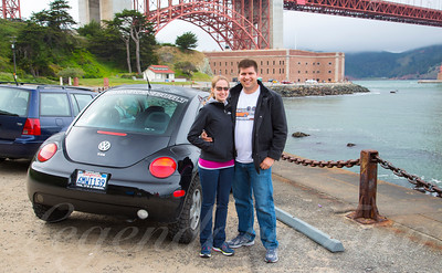 David and Ashlee in San Francisco