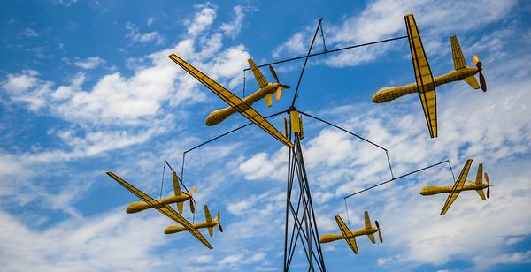 Giant Drone Mobile (Bellevue Downtown Park)