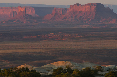 Morning light on Monument Valley