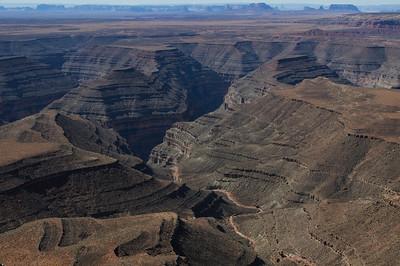 Goosenecks and Monument Valley