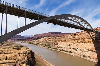 Bridge over the Colorado River near Hite