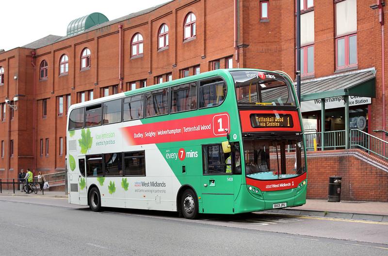 5418 BX13JPU, Wolverhampton 1/7/2014