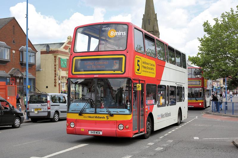 4049 V49MOA, West Bromwich 1/7/2014