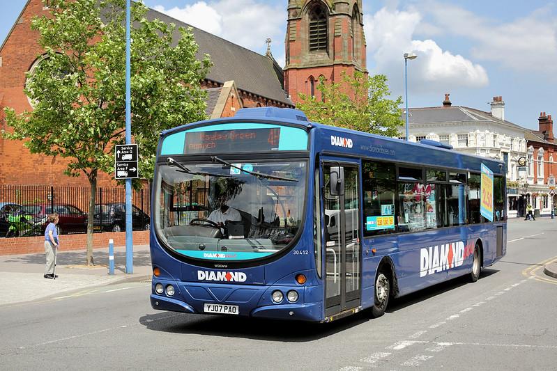 30412 YJ07PAO, West Bromwich 1/7/2014