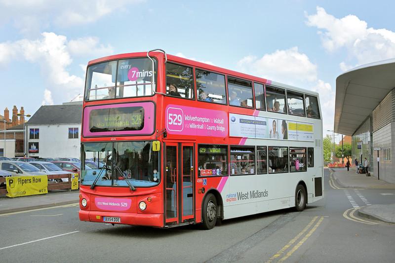 4599 BX54DDE, Wolverhampton 1/7/2014