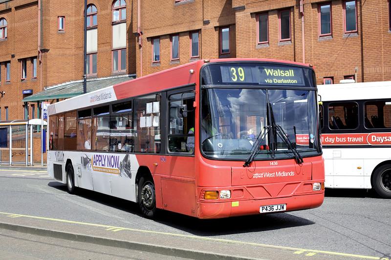 1436 P436JJW, Wolverhampton 1/7/2014
