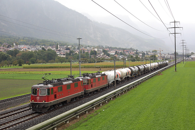 11167 and 11319, Zizers 1/10/2014