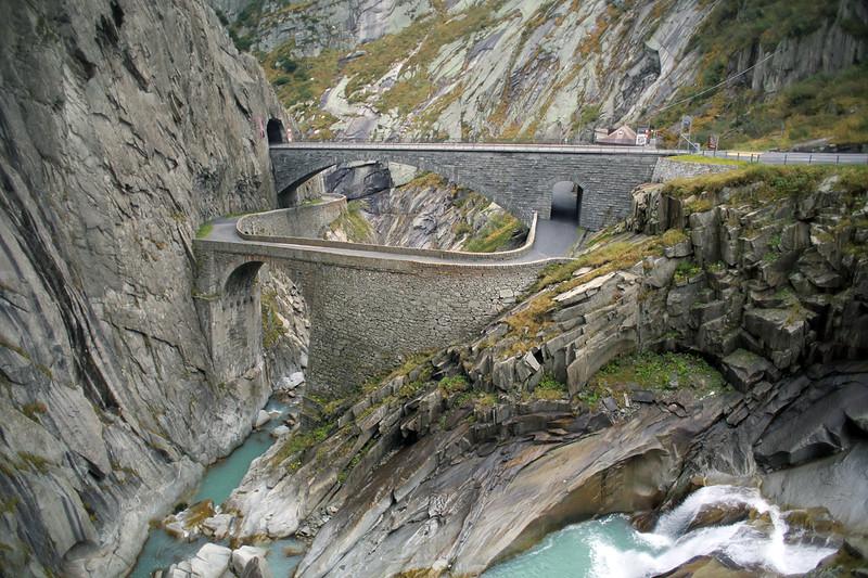 Devil's Bridge, Schöllenen Gorge, Switzerland 1/10/2014
