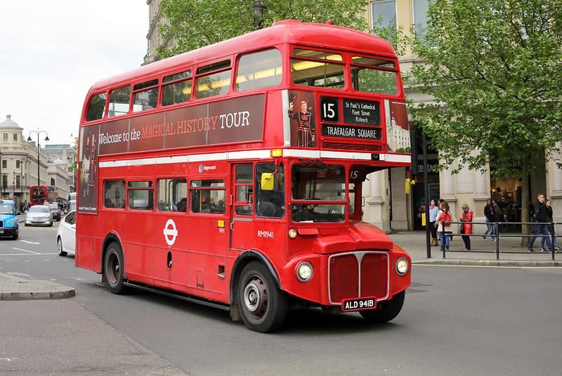 RM1941 ALD941B, Trafalgar Square 2/5/2014