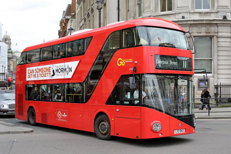 LT43 LTZ1043, Trafalgar Square 2/5/2014