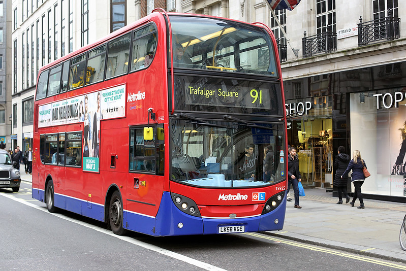 TE925 LK58KGE, The Strand 2/5/2014